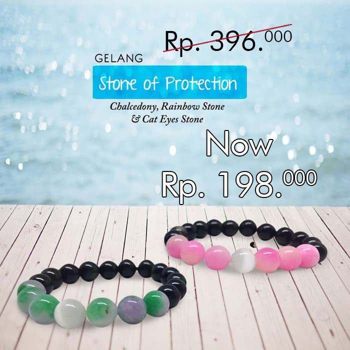 Gelang Stone Of Protection (GCS27)⁣