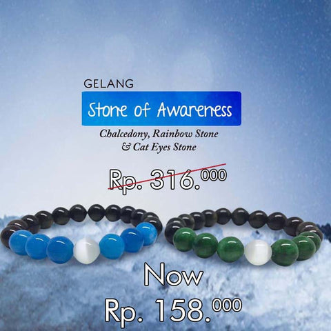 Gelang Stone Of Awareness (GCS29)