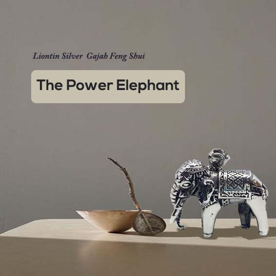 Liontin The Power Elephant FengShui (ST20)