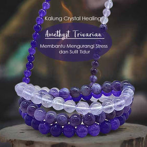 Kalung Crystal Healing Amethyst Pendant (LBP41)