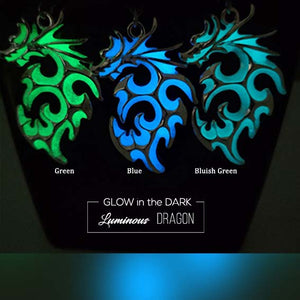 Liontin Luminous Dragon (Glow In The Dark) (LT03)