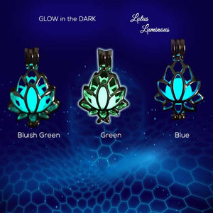 Liontin Lotus (Glow In The Dark) (LT04)