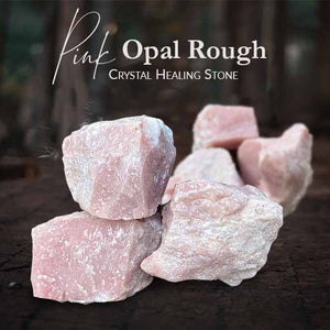 Pink Opal Rough Crystal Healing (BC212)