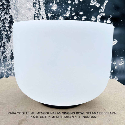 Crystal Healing Clear Quartz Singing Bowl (SB03)
