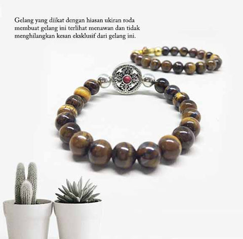 Gelang Tiger Eyes Stone of Spirit (8UCP05)