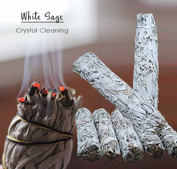Crystal Cleaning White Sage (DPA04)