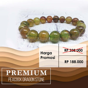 Gelang Peacock Dragon Stone (RBN20)