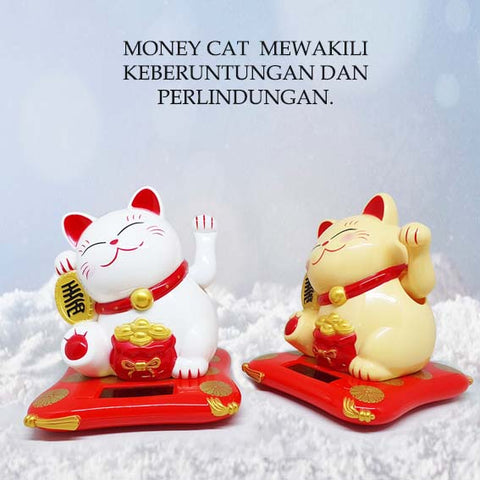 Dekorasi FengShui Solar Money Cat (IMD03)