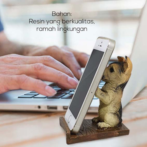 Dekorasi Smartphone Holder Puppy Dog (VSTU01)
