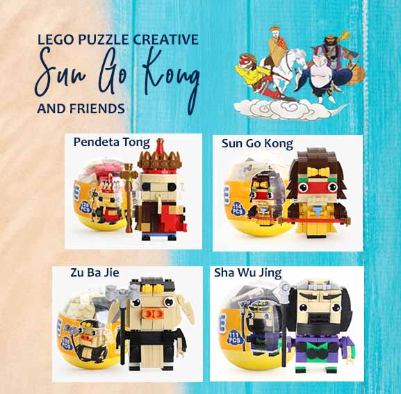 Dekorasi Lego Sun Go Kong and Friends (VEDLO01)