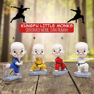 Dekorasi Mobil Kungfu Little Monks (IMC01)