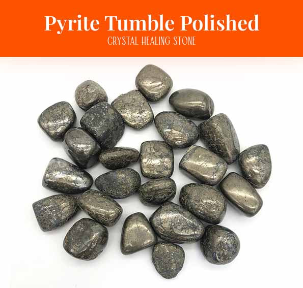 Pyrite Tumble Polished Crystal Healing (BC196)