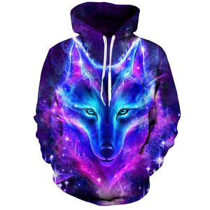 Space Galaxy Wolf