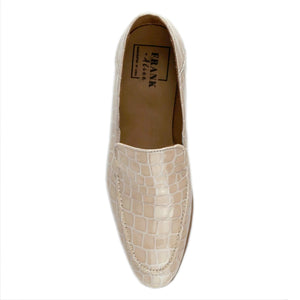 Jules Nude Croc Loafer Top