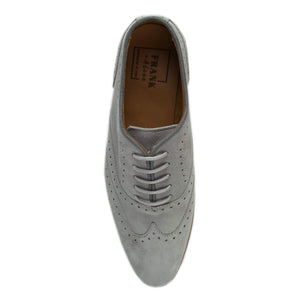 Lacey Grey Suede Brogue Top