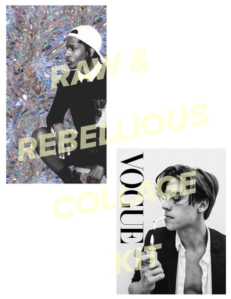 Rebellious Collage Kit