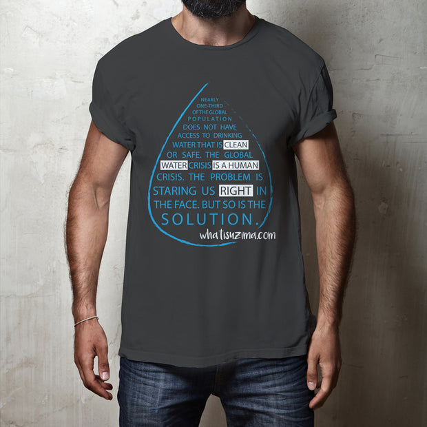Unisex T-Shirt - Clean Water Is A Human Right