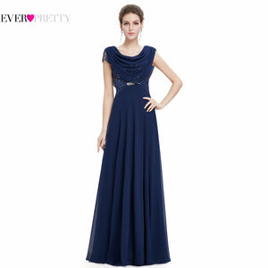 Purple Evening Long Dresses Special Occasion 2017 Double Cowl Neck Beads Formal Maxi Fashion Plus Size EP09989 Elegant dress
