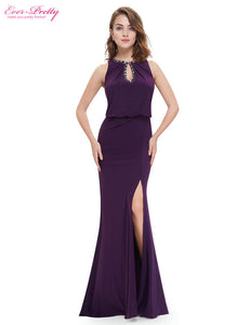 Evening Dress Ever Pretty EP08383 2017 Elegant Neckline Women Long Sexy On Line Plus Size Evening Gown Dress