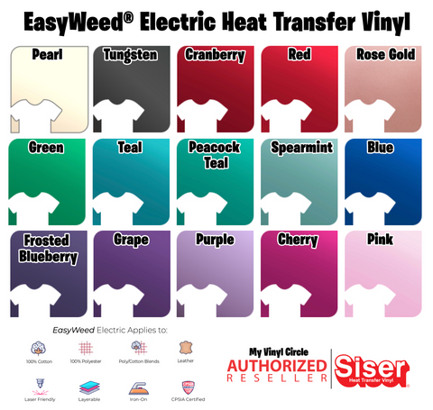 Electric Siser EasyWeed® Electric HTV 15""