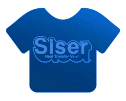 Electric Blue Siser EasyWeed® Electric Heat Transfer Vinyl 15""