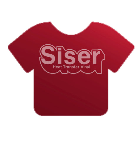 Electric Cranberry Siser EasyWeed® Electric Heat Transfer Vinyl 15""