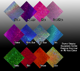 "12"" x 12"" Holographic Sequin Glitter Sheets - Decorative Adhesive Vinyl"