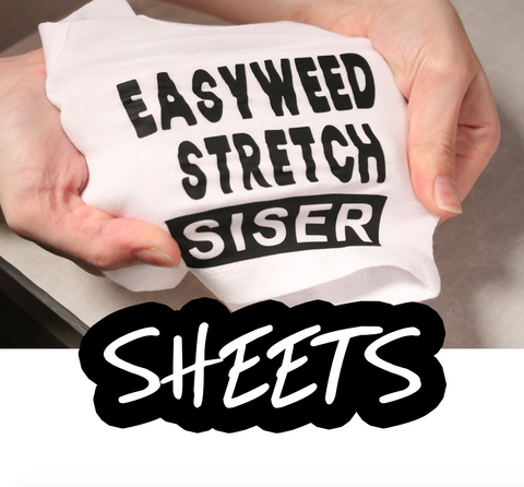 Siser STRETCH HTV Sheets