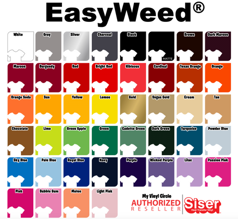 "Mix and Match 12"" x 15"" EasyWeed Sheets"