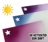 UV Color Change ShiftVinyl™ SunShift™ Permanent Adhesive Vinyl