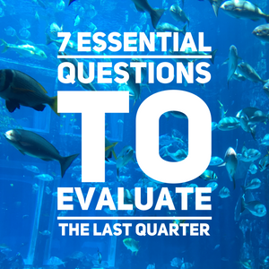 How To Evaluate The Last Quarter - The 7 Essential Questions