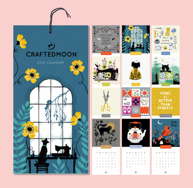 **PREORDER** Craftedmoon's Sewing Themed 2020 Calendar