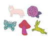 Woodland Animal Topper Set SVG File
