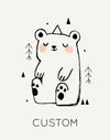*PREORDER*Little Bear Custom Kids Art Print