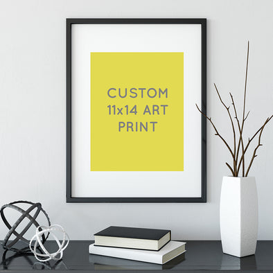 Custom Sarah Watts Art Print