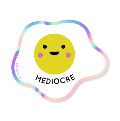 Mediocre Egg Sticker