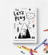 *PREORDER* Hey Let's Play Kids Activity Book
