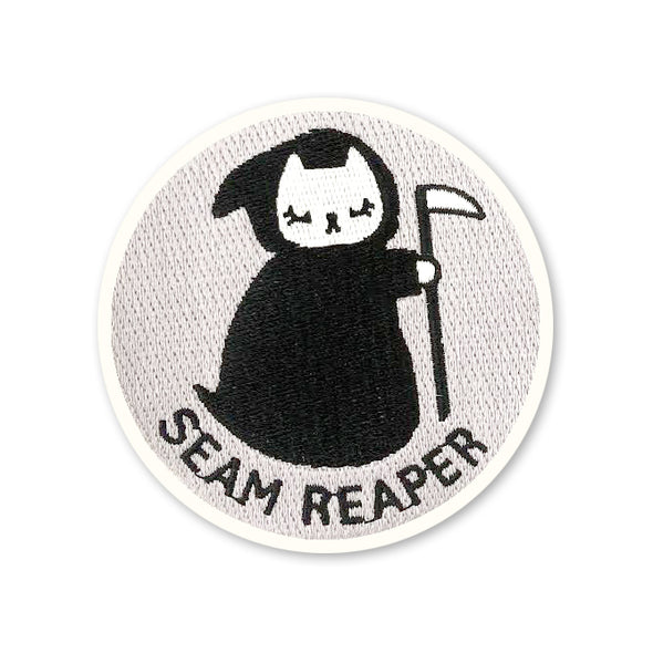 Seam Reaper Iron-On Patch