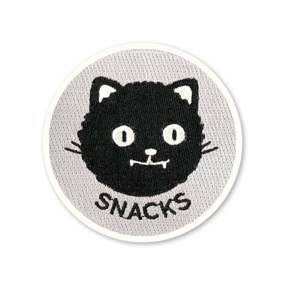 Snacks Iron-On Patch