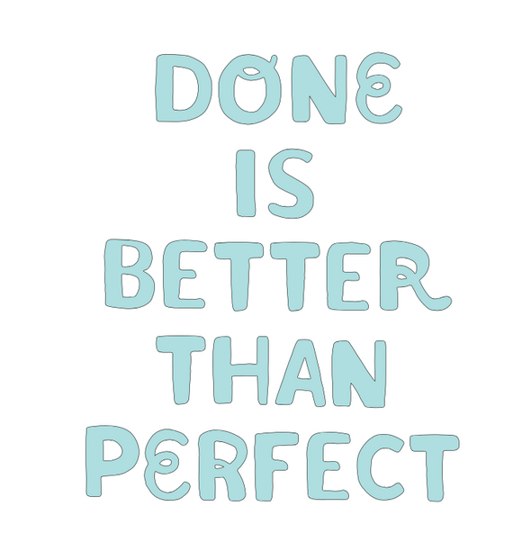 Done is Better that Perfect SVG File