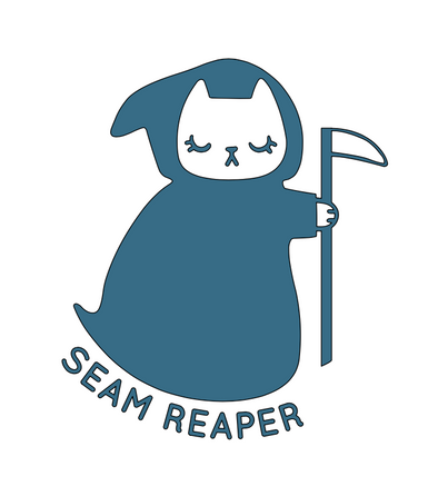 Seam Reaper Cat SVG File