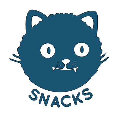 Snacks Cat SVG File