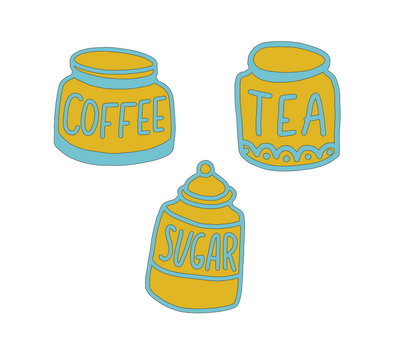 Canister Set SVG File