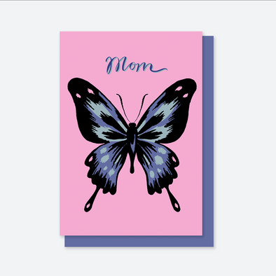 Mom Butterfly Card Printable