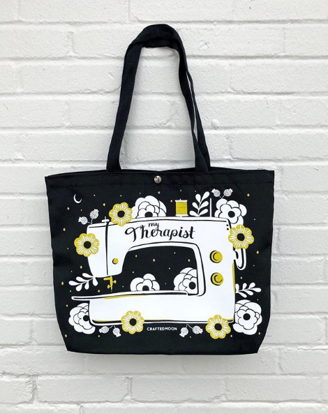 """My Therapist"" Recycled Bottle Tote Bag"