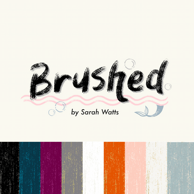 Sarah Watts *Brushed Basic FQ Bundle* PREORDER *Comes with Free Art Print*