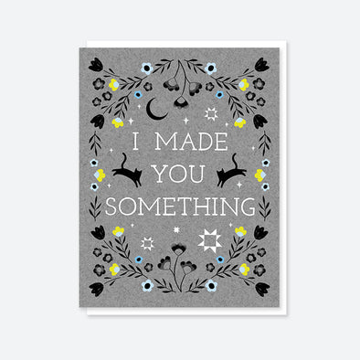 """I Made You Something"" Double Cat Card"