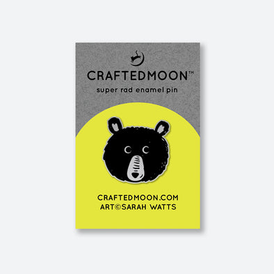 Teddy Enamel Pin