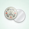 "3"" I Love Sewing Pocket Mirror"