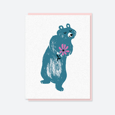 Bear Crush Card